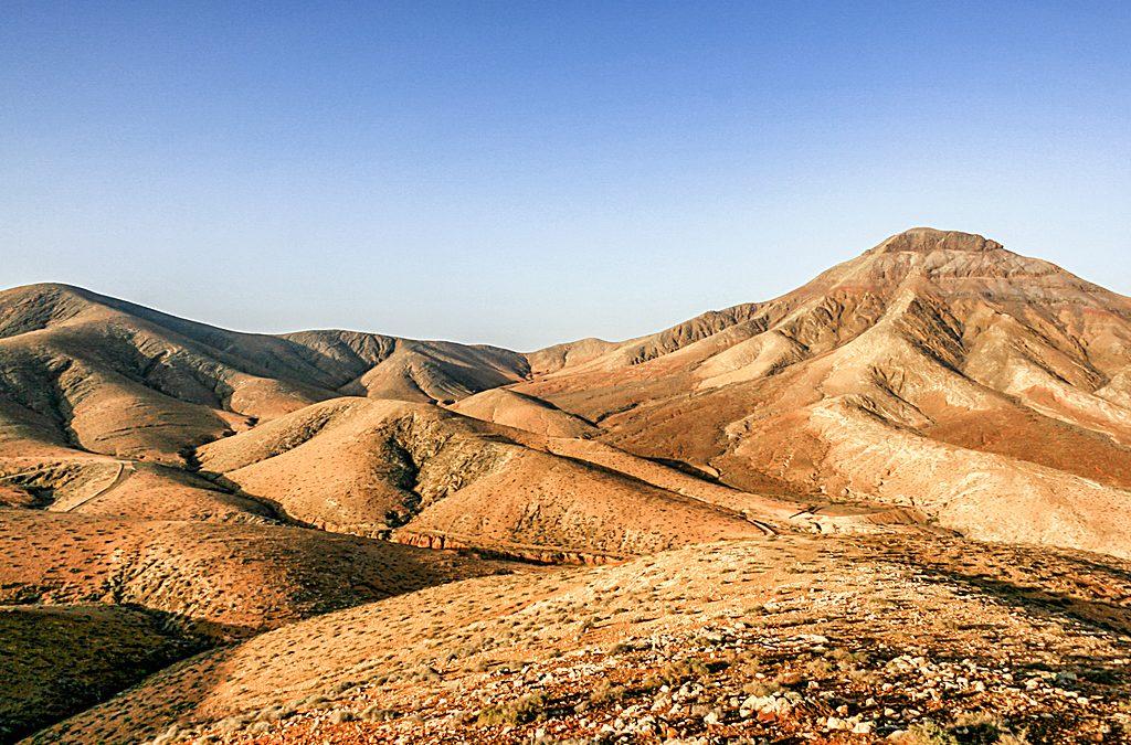 Trekking route in Fuerteventura II: El Cardón-El Tanquito