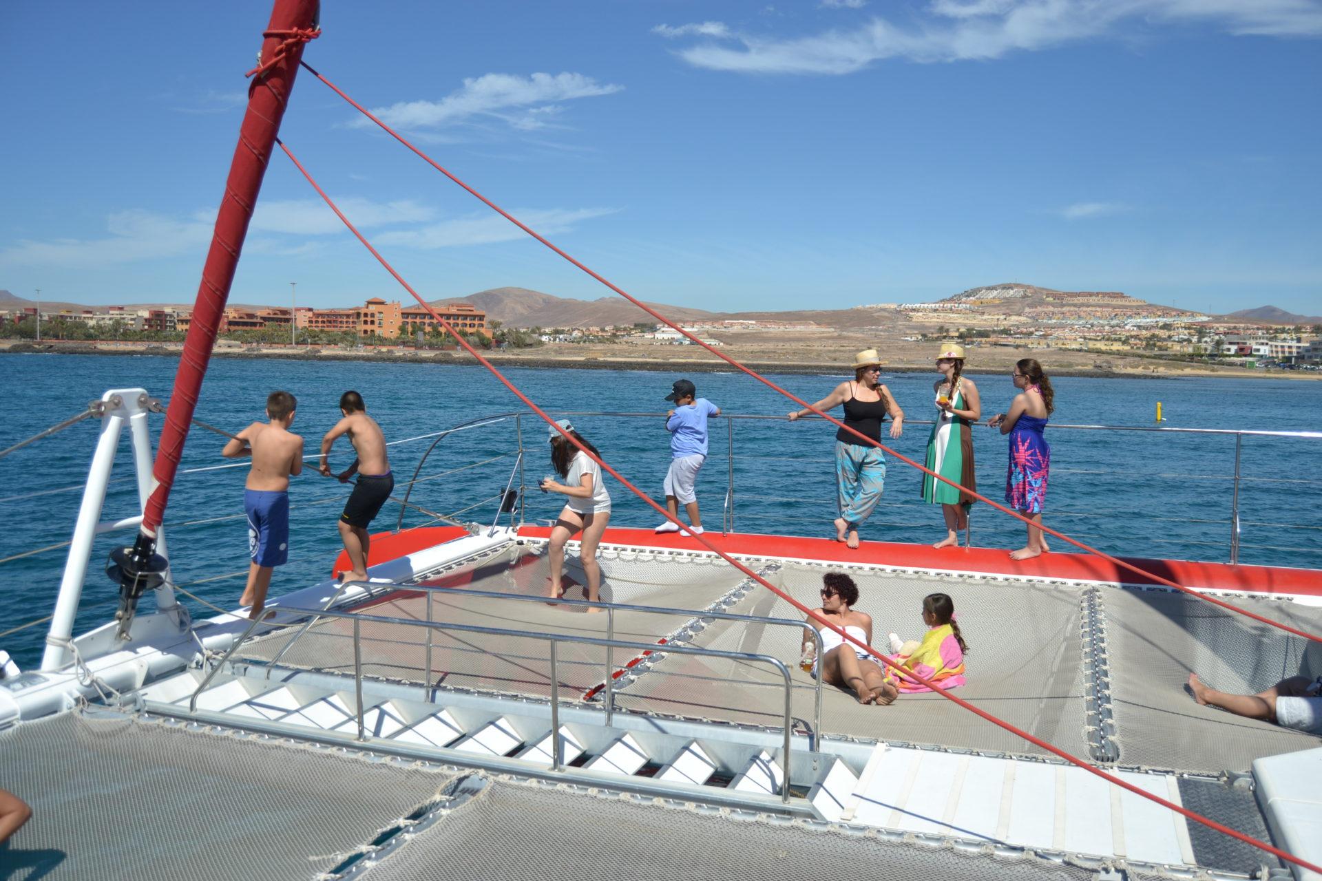 solarium catamaran fuerteventura canary trip booking