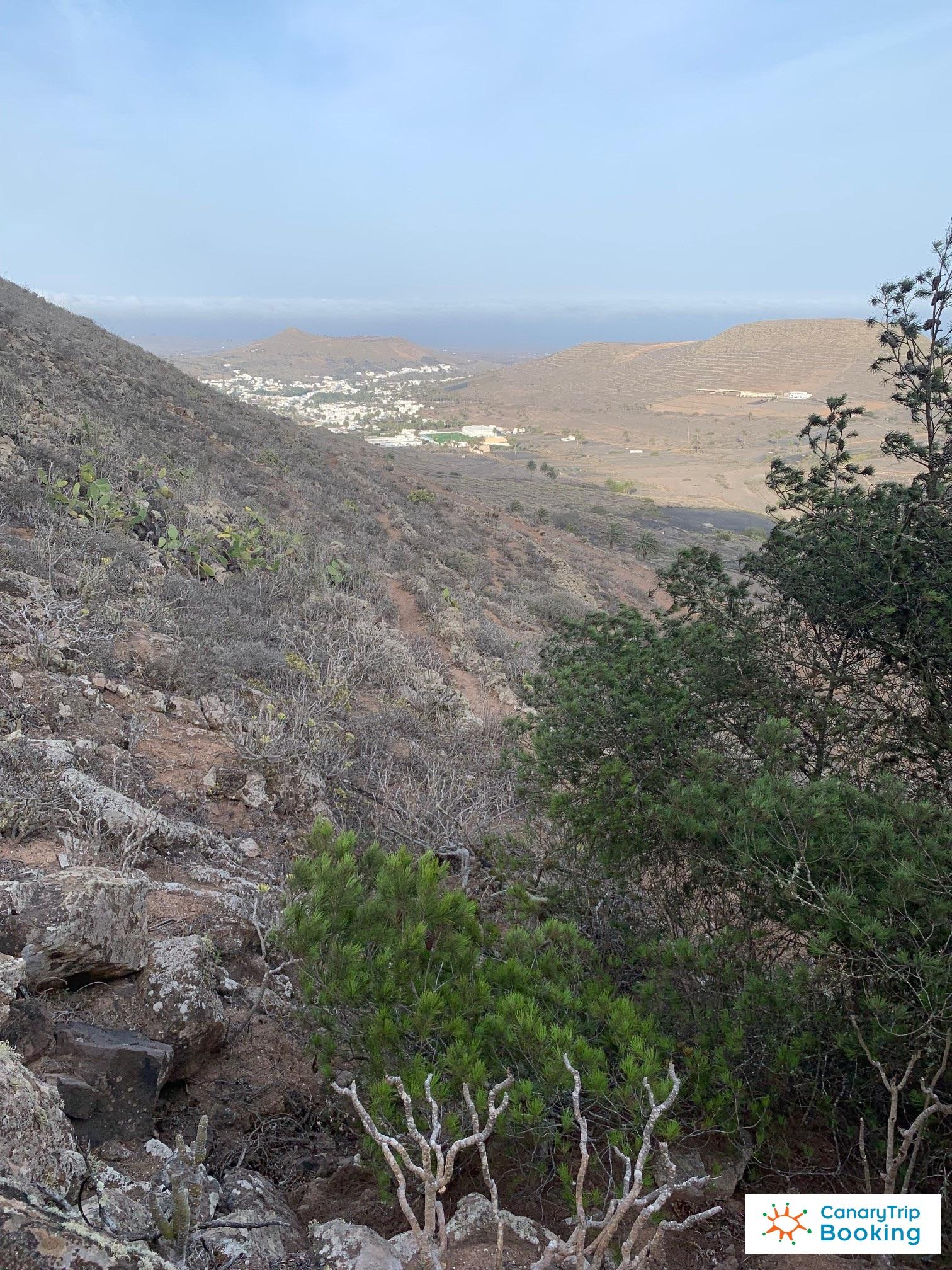 Haria desde la montaña