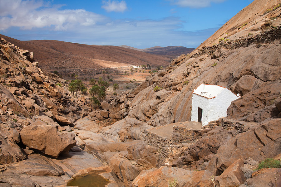 Trekking route in Fuerteventura I: the Peñitas ravine