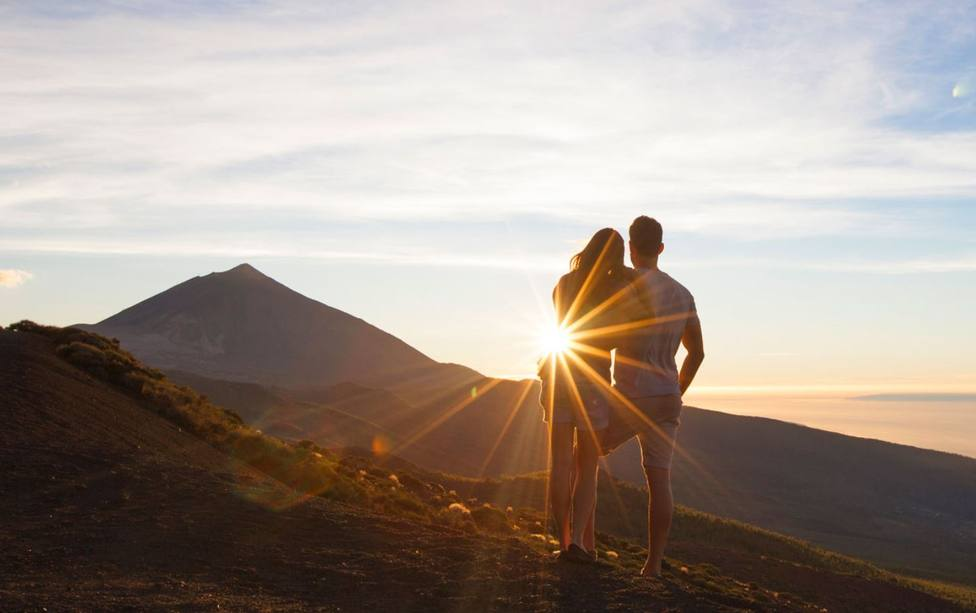 Romantic places in the Canary Islands