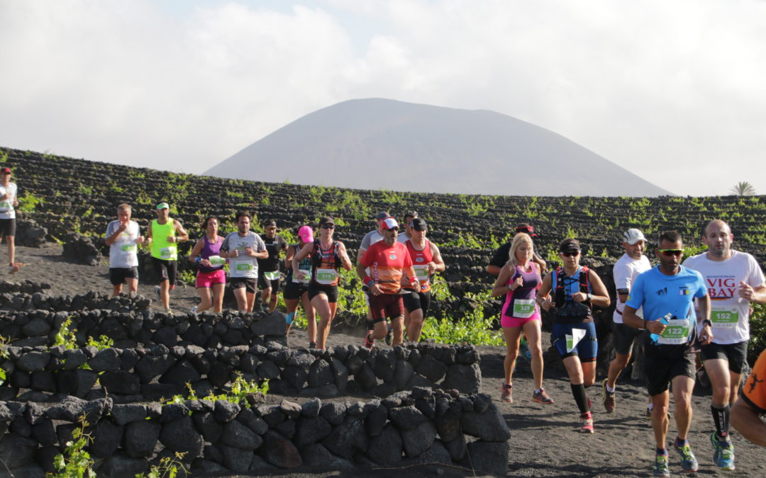 Wine Run Lanzarote: a race among vineyards