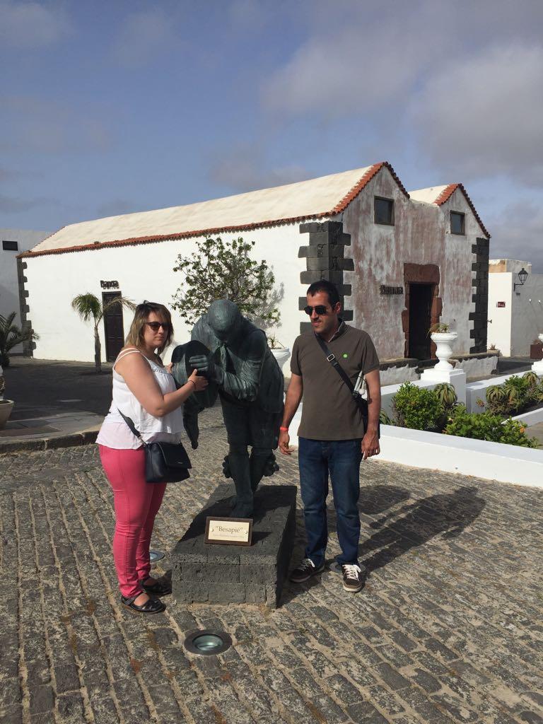 María y Alberto en Teguise