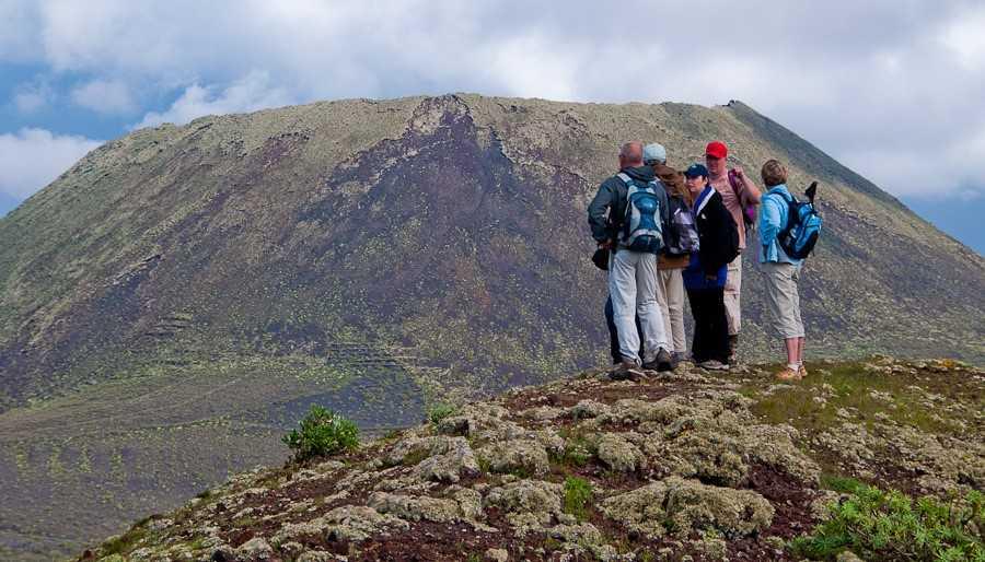 Trekking in Lanzarote I : Corona Volcano