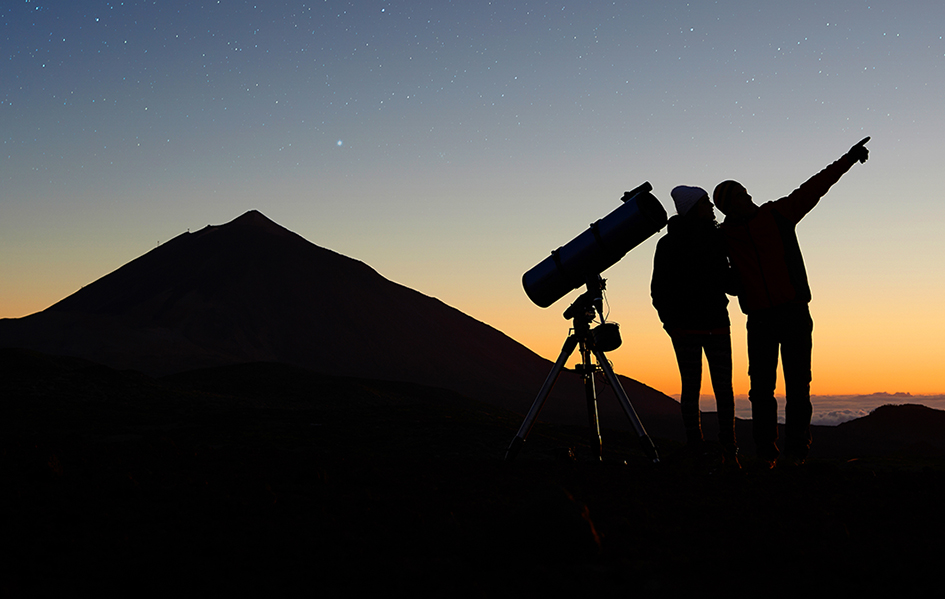 Stargazing in Canaries