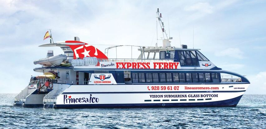 ferry express barco a papagayo canary trip booking