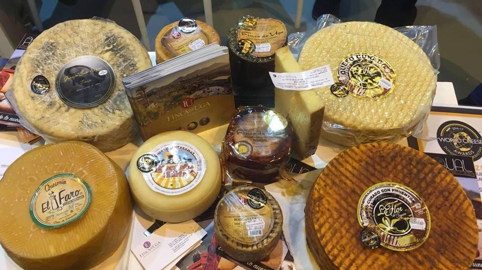 seleccion quesos artesanos de lanzarote